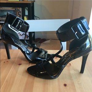 Jessica Simpson Shoes - Jessica Simpson black caged sandals