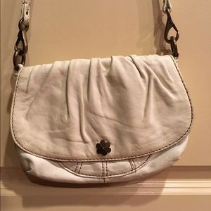 Lucky Brand White Leather Crossbody
