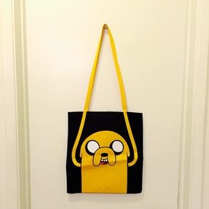 Adventure Time Handbags - Adventure Time - Jake the Dog Tote Bag