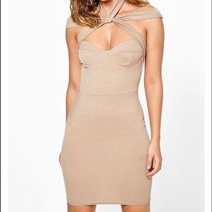 Boohoo Dresses & Skirts - SOFIA STRAPPY DETAIL BODYCON DRESS