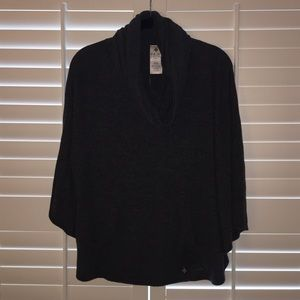 NUX Sweaters - NUX cowl neck cape sweater