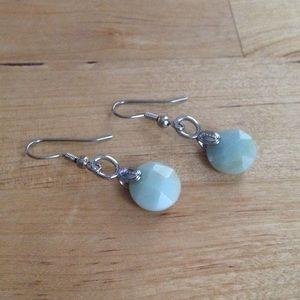 Lia Sophia Jewelry - Mint Green Earrings