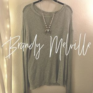 Brandy Melville / Teal Sweater