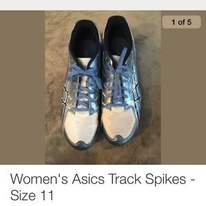 Asics Track Spikes - size 11