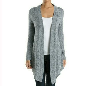 LAST ONE! Gray Knit Cardigan SIZE SMALL