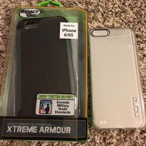 Bundle 2 iPhone 6/6s phone cases. Both brand bew❗️