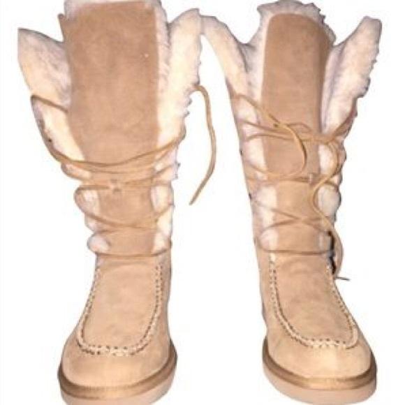 Ugg Shoes Appalachian Laceup Shearling Lined Suede Boot Poshmark