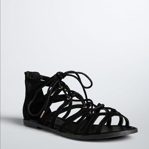 d2a40d4eea8c Lace Up Gladiator Sandals (Wide Width)