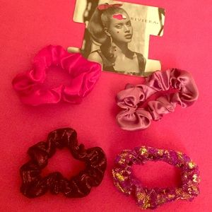 Riviera Other - Riviera Dressy Girls' Ponytail Scrunchies, 4 PK