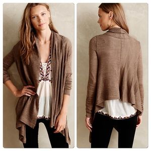 Anthropologie Far Channels Cardi