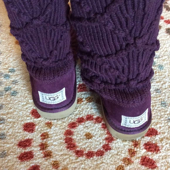 argyle knit ugg