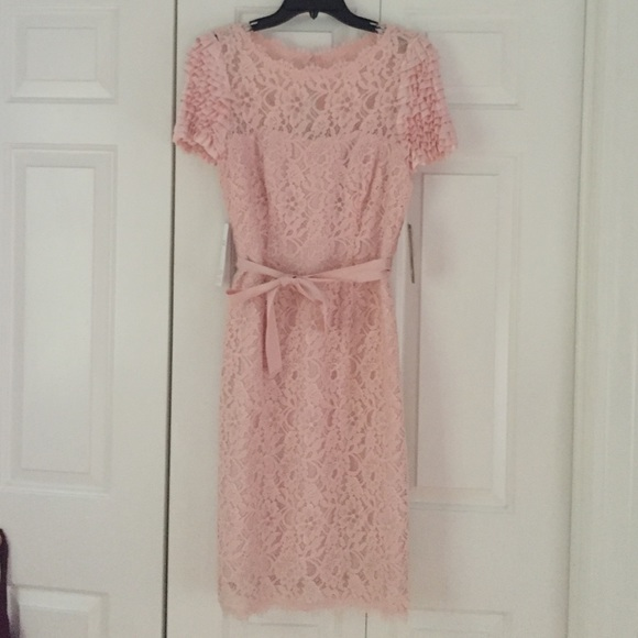 62237d4c05ea Nue by Shani Dresses | Pink Lace Dress | Poshmark