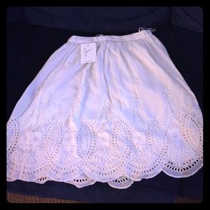 Joie white skirt size small