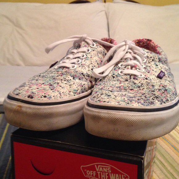 97f505f37e Vans Liberty Speckle True white 9 women. M 57d576fbf739bc67f3003c6e