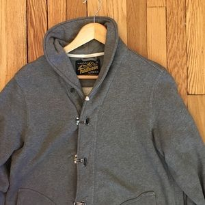 Penfield Shawl Collar French Terry Cardigan Small