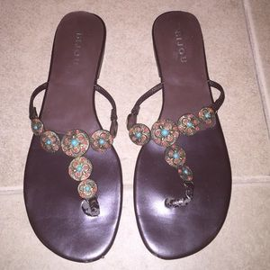 Bijou Shoes - Brown sandals