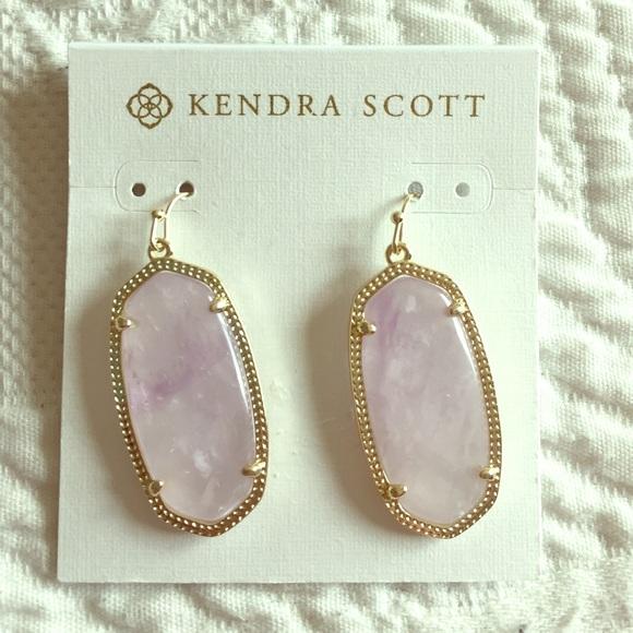 8508b5edf Kendra Scott Jewelry   Elle Earrings In Amethyst   Poshmark