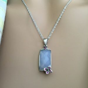 Jewelry - Ruby & Rose Quartz & Butterfly