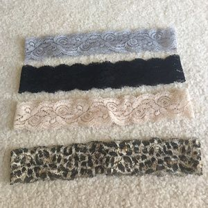 Accessories - 4 piece lace headband set