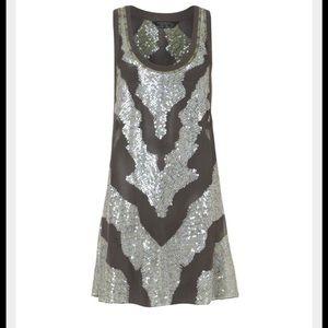 All Saints Tops - New All Saints Spitalfields Sparkle Vest Dress Top