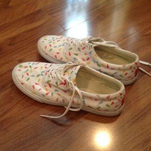 Lightly used sneakers