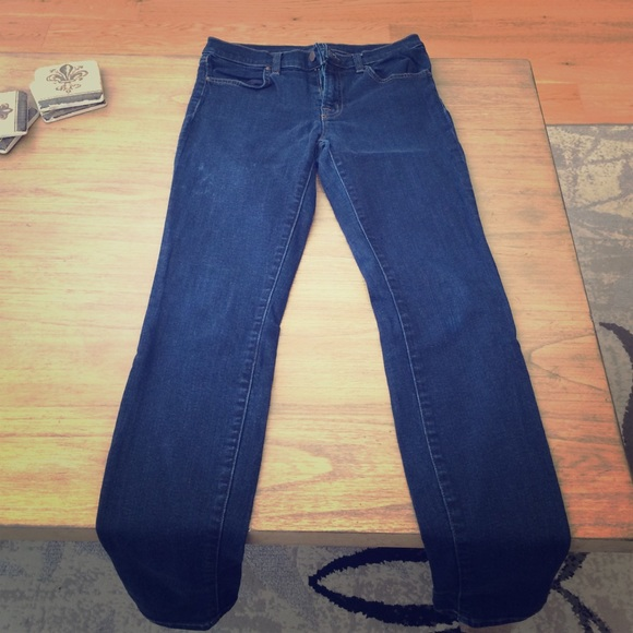 91 off j brand denim cco sale j brand super skinny jeans from paige 39 s closet on poshmark. Black Bedroom Furniture Sets. Home Design Ideas