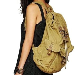 Bed Stu Handbags - BED STU Backpack Distressed Bag Unisex Book Tote
