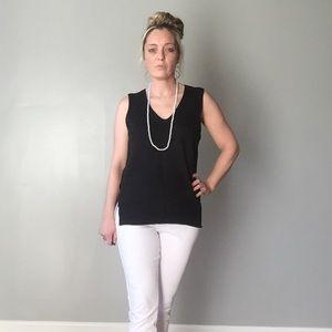 Boutique Sweaters - Black Sweater Vest