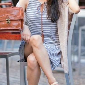 ModCloth Dresses & Skirts - Modcloth striped sleeveless dress