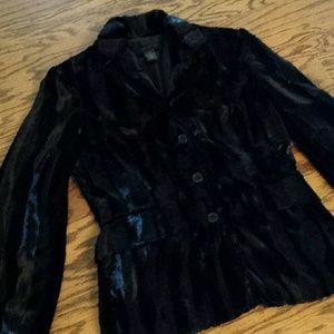 Jackets & Blazers - The Limited faux fur blazer
