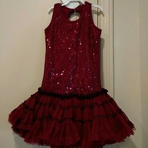 New Ooh la la Couture 4T sequin tulle twirl dress