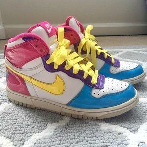 Colorful Nike High Tops | Poshmark