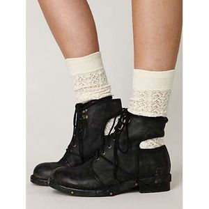 Jeffrey Campbell Shoes - Jeffrey Campbell Rosie open back boots leather