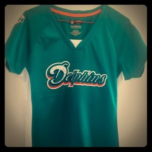Miami Dolphins shimmer shirt