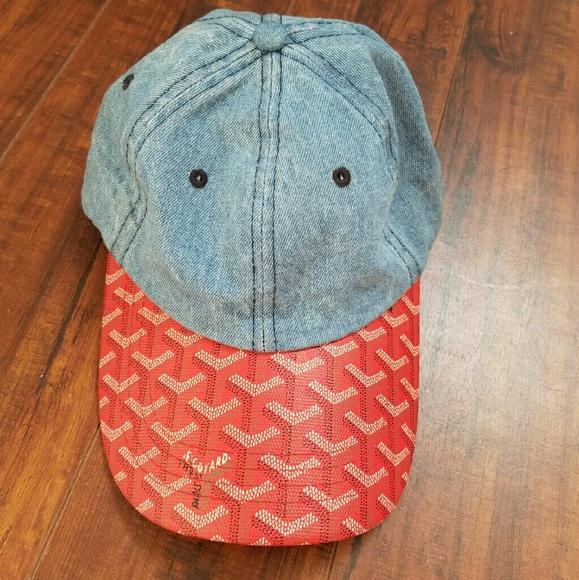f78f3e15830 Goyard Accessories - Goyard denim dad hat