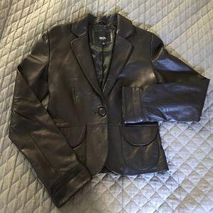 Mossimo Jackets & Blazers - Mossimo soft leather jacket/blazer