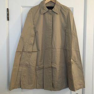 Zara Jackets & Coats - Zara Khaki Cape