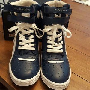1ab2b96a3d4d Puma Shoes - PUMA Mihara Yasohiro MY-66 Wedge sneakers 5.5 NIB