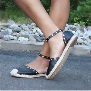 Halogen Shoes - Halogen Angle Strap Espadrilles