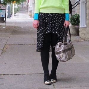 Zara Skirts - Zara High/Low Skirt with Star Print