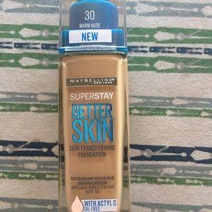 Maybelline SuperStay Better Skin 30 warm nude.