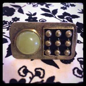 Jewelmint Jewelry - NWOT JewelMint Brass Double Finger Ring Size 6 & 8