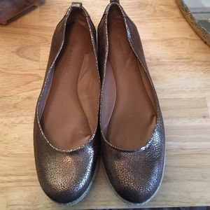 Banana Republic flat Espadrilles in Bronze