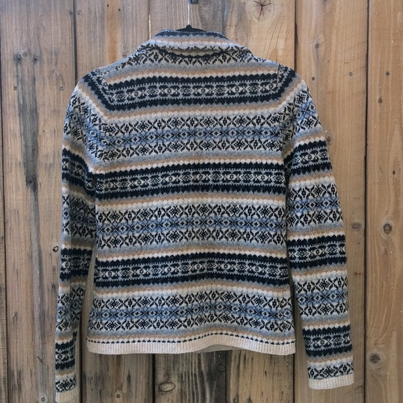 Banana Republic - Banana Republic Fair Isle Cardigan from ...
