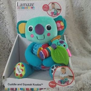 Lamaze Other - Lamaze Cuddle and Squeak Koalas