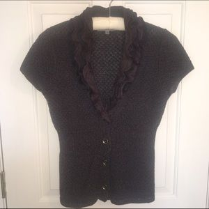 Classiques Entier Sweaters - 🚨SALE!🚨Cute Short Sleeved Cardigan!