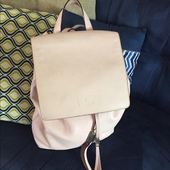 71% off kate spade Handbags - Kate Spade blush pink backpack purse ...