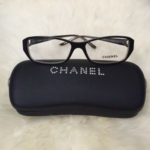 Chanel Eyeglass Frames Repair : 83% off CHANEL Accessories - Chanel 2118HB eyeglasses ...