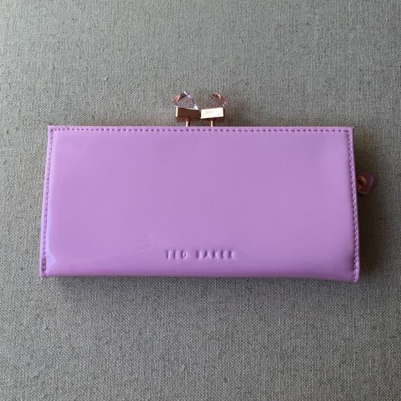 fec7fd4d3 Ted Baker Crystal Popper Wallet in Dusty Pink