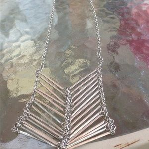 Gorgeous silver statement necklace